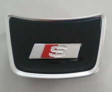 Audi a6 4g c7 original s-line volante clip letras cheers emblema logotipo volante clip s6