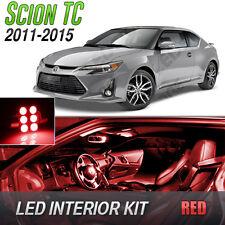 2011-2015 Scion tC Red LED Lights Interior Kit