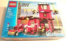 Vintage Lego 7240 City Fire Station (Brand New & Sealed)