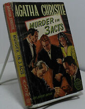 Murder in 3 Acts by Agatha Christie - Avon 61 - Murder in Three Acts