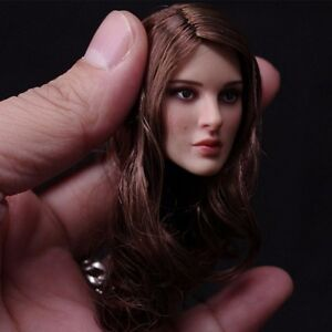 New 1/6 Scale Natalie Portman Head Sculpt For Hot Toys Phicen Female Figure Body