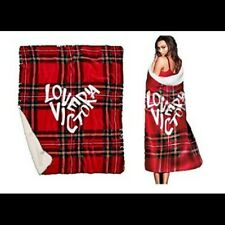 "VICTORIA SECRET ""LOVE VICTORIA"" BLANKET **LIMITED EDITION**"