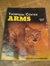 Thompson Center Arms Catalog no 16 1989