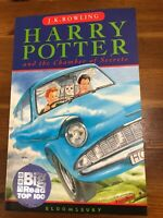 Harry Potter & the Chamber of Secrets 1st 36run  Edition Paperback Bloomsbury 98