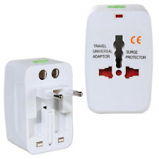 ALL IN ONE UNIVERSAL TRAVEL ADAPTER INTERNATIONAL PLUG UK EU AU US ELECTRICAL