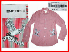 ENERGIE  (ITALY) Shirt Man Size  XL. In Shop 120 E , Here Much Less! EN01 D-1