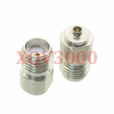 1pce Adapter converter SMA female jack to IPX U.fl male plug nickel RF COAXIAL