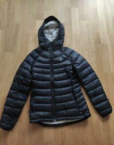 adidas Primaloft Steppjacke Winterjacke Jacke Kapuze Outdoor  Größe S schwarz