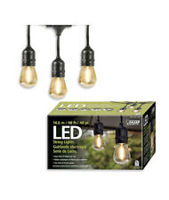 Feit Electric LED String Lights 14.6 M 48 Feet Uses Only 24 Watts M73D-E 💡🔥
