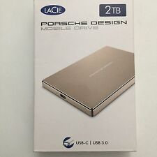 LaCie Porsche Design 2TB USB Mobile Drive Gold