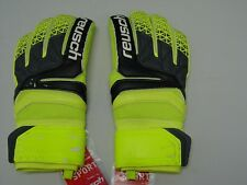 Reusch Soccer Goalie Gloves PRISMA SG Extra #3870835S SZ 9 YELLOW&BLACK SAMPLES