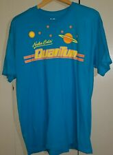 Fallout Nuka Cola Quantum Tee T-Shirt 100% Cotton Unisex Turquoise Bethesda Pre-