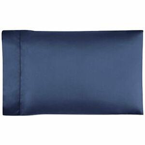 Ralph Lauren 624 Solid Sateen King Pillowcases $145  Polo Navy