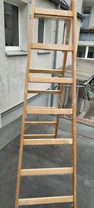 Holzleiter 7 Sprossen
