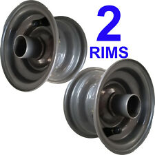 TWO 5 inch diameter RIMs WHEEL for Zero Turn Riding Mower Deck 5x3 use 11x4.00-5