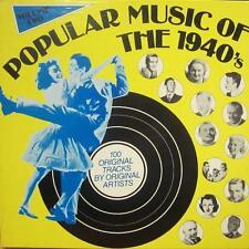 "Various Easy Listening(5x12"" Vinyl LP Box Set)Popular Music Of The 1940-Ex-/NM"