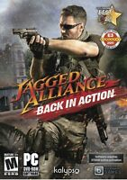 Jagged Alliance Back In Action PC Games Windows 10 8 7 XP Computer strategy NEW