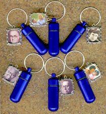 H6RF,Cremation Jewelry,Blue Urn,Keepsake Urn,Cremation Urn,Jewelry Urn,Small Urn