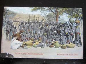 alte orig. Ak Deutsch-Süd-West Afrika ca. 1908