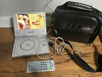 MINTEK MDP-1770 Portable DVD & CD Player With traveling case and Free Shipping