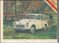 Morris Minor Traveller Car Greetings Card - birthday Rothbury nostalgia