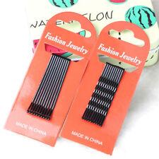 Two Sets U Shaped Black Hairpin Hair Clip Bobby Pins Bob Pin Barrette Women Tool