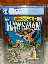 Hawkman #1 PGX 9.4 DC 1964 1st Hawkman in title! WP! JLA! Free CGC Mylar! cm