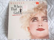 MADONNA WHO'S THAT GIRL SOUNDTRACK LP SIRE SEALED CLUB NOUVEAU SCRITTI POLITTI