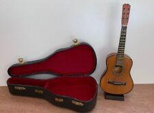 Mini Decorative Guitar With Stand & Case