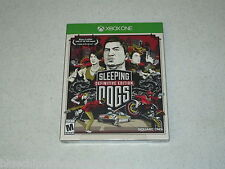 Sleeping Dogs Definitive Edition XBOX One Art Book Unopened  FREE SHIPPING
