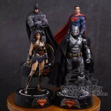 DC Justice League Batman Wonder Woman Superman Statue With LED Light PVC Gift