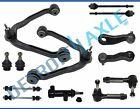 13pc Control arm Ball joint Tierod sway links Kit for Silverado 1500 4x4 - 6-Lug