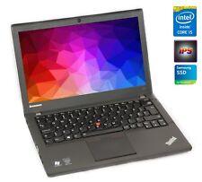 "Lenovo ThinkPad X240 i5-4300u 8GB 256GB SSD USB 3.0 12,5"" IPS FHD FullHD WEBCAM"