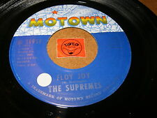 THE SUPREMES - FLOY JOY - THIS IS THE STORY  / LISTEN -  TAMLA MOTOWN