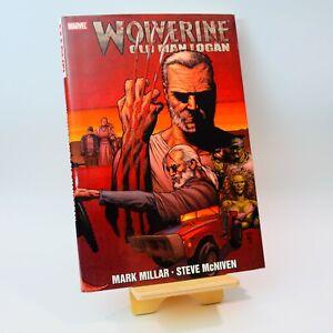 Marvel Wolverine Old Man Logan Hardcover Graphic Novel Book 2009 First Printing