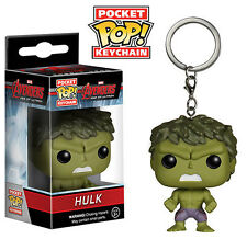Hulk Marvel Avengers Age of Ultron Keychain Pocket Pop! Vinyl Figure NEW