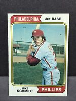 1974 Topps # 283 Mike Schmidt NM Philadelphia Phillies HOF