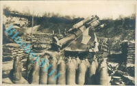 "WW1 British 8.5 inch Heavy Howitzer "" Persuader""  Real photo unposted"