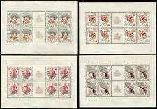 Czechoslovakia #2126-2129 Czech Republic Gutter Blocks Sheets Postage Collection
