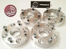 """[SR] 1.5"""" Wheel Spacers Suzuki Yamaha ATV UTV 10x1.25 Studs 4x110 Flat Nuts QTY4"""