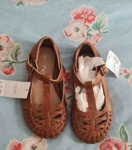 Baby toddler Girls Shoes infant size 5 sandals Next bnwt rrp £16
