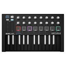 Arturia MiniLab MKII USB MIDI Controller (Black - Inverted Keys)