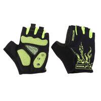 Sports Racing Cycling Motorcycle BMX MTB Bike Bicycle Gel Half Finger Gloves