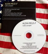 ALEXA MELO RADIO SAMPLER CD 6 Tracks