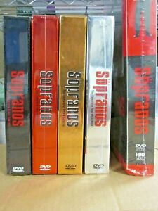 NEW & SEALED!! The Sopranos: Seasons 1-5 DVDS