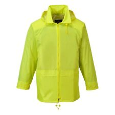 Mens Portwest Classic Rain Jacket Waterproof Coat | S440
