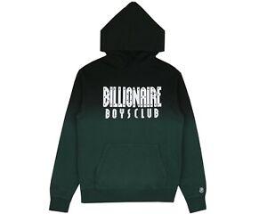 BILLIONAIRE BOYS CLUB STRAIGHT LOGO POPOVER HOOD - GREEN - RRP £235.00