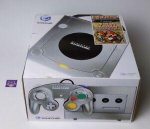 BRAND NEW Nintendo GameCube Platinum Console W SEALED Paper Mario Collectible