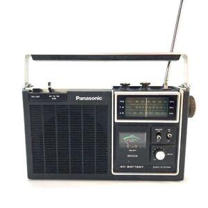 1970s Panasonic 3 Band AM-FM-PSB Radio model RF-1060 FULLY WORKS Excellent Shape