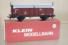 KLEIN MODELLBAHN 3264 DB SCHIEBEDACHWAGEN COVERED MINERAL WAGON 365324 ni